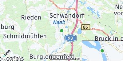Google Map of Wiefelsdorf