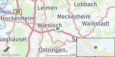 Google Map of Dielheim
