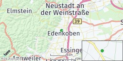 Google Map of Edenkoben