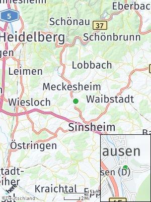 Here Map of Zuzenhausen