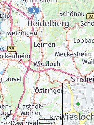 Here Map of Wiesloch