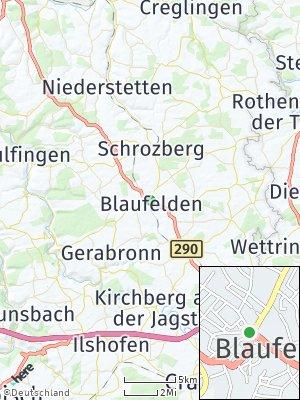 Here Map of Blaufelden