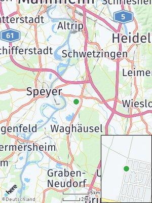 Here Map of Neulußheim