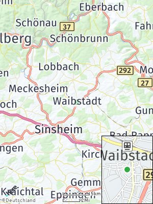 Here Map of Waibstadt