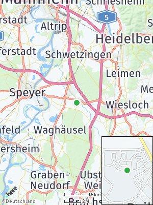 Here Map of Reilingen
