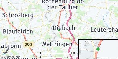 Google Map of Insingen