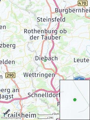 Here Map of Diebach