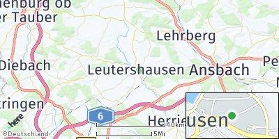 Google Map of Leutershausen