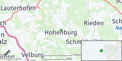 Google Map of Hohenburg