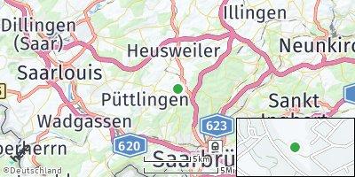 Google Map of Riegelsberg