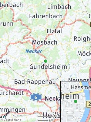 Here Map of Haßmersheim