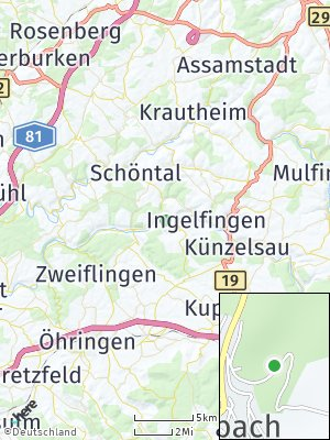 Here Map of Weißbach