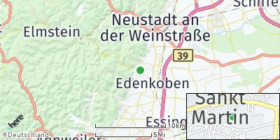 Google Map of Sankt Martin