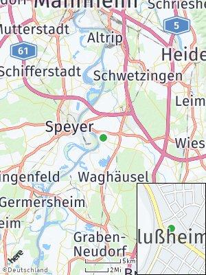 Here Map of Altlußheim
