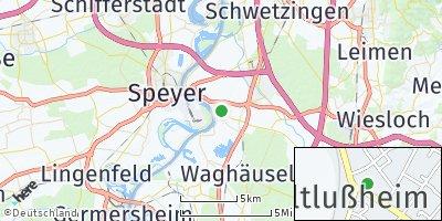 Google Map of Altlußheim