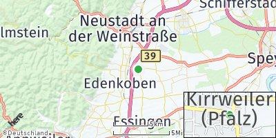Google Map of Kirrweiler