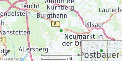 Google Map of Postbauer-Heng