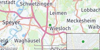 Google Map of Walldorf