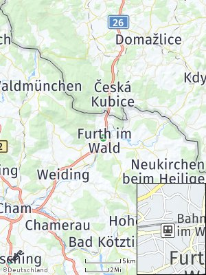 Here Map of Furth im Wald