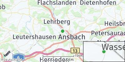 Google Map of Wasserzell