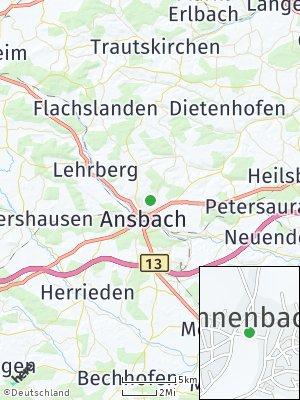 Here Map of Kammerforst
