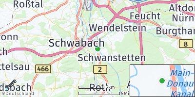 Google Map of Schaftnach