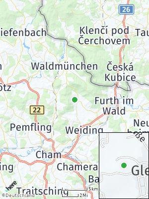Here Map of Gleißenberg