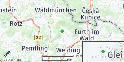 Google Map of Gleißenberg