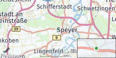 Google Map of Dudenhofen