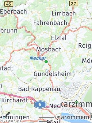 Here Map of Neckarzimmern