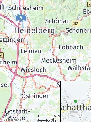 Here Map of Schatthausen