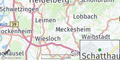 Google Map of Schatthausen