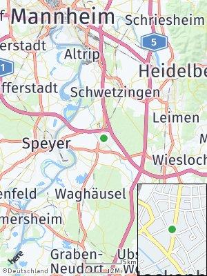 Here Map of Hockenheim