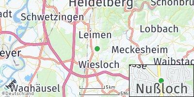 Google Map of Nußloch