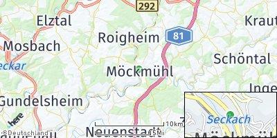 Google Map of Möckmühl