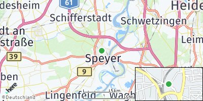 Google Map of Speyer