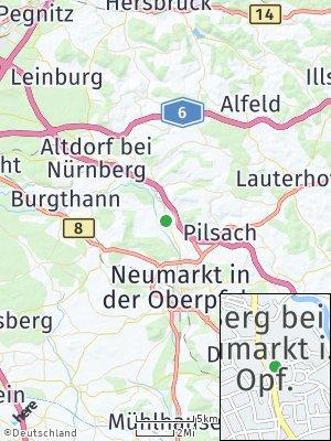 Here Map of Berg