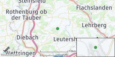 Google Map of Buch am Wald