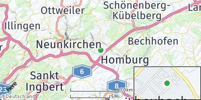 Google Map of Bexbach