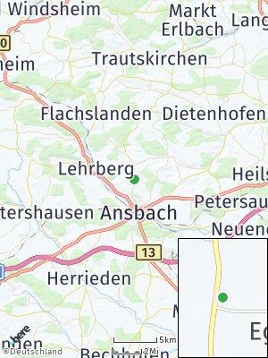 Here Map of Egloffswinden