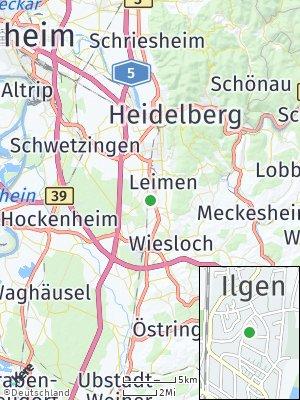Here Map of Sankt Ilgen