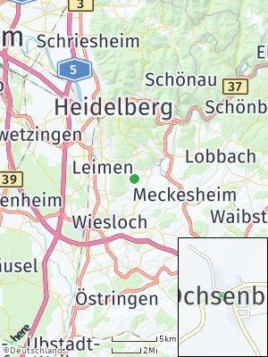 Here Map of Ochsenbach