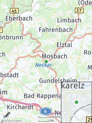 Here Map of Neckarelz