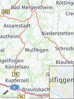 Here Map of Mulfingen