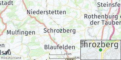 Google Map of Schrozberg