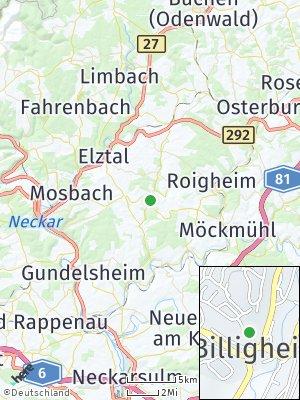 Here Map of Billigheim