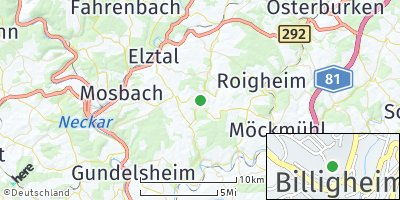 Google Map of Billigheim
