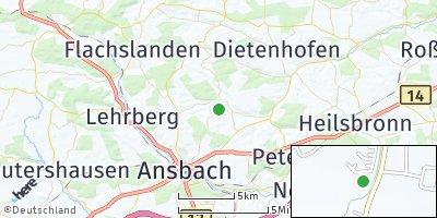 Google Map of Weihenzell