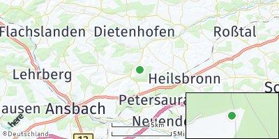 Google Map of Bruckberg