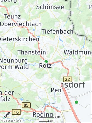 Here Map of Rötz
